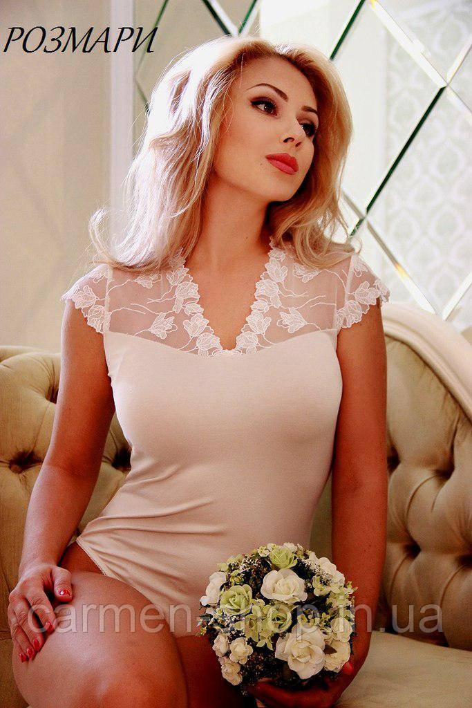 Блуза из трикотажа РОЗМАРИ