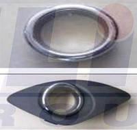 Заглушка праваябампера переднего с отверстиями для противотуманной КИА Сид KIA CEED 12.06- 3267996