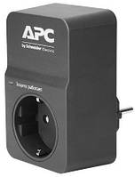 Фильтр apc essential surgearrest 1 outlet, black, new