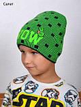 Модная мальчуковая детская шапка WOW, Разные цвета, 52-56, фото 4