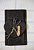 Костеры 12х10 см; сердце, натур., сланец, фото 4