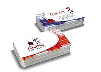 Дизайн визиток питомника собак (Вест Хайленд Уайт Терьеров)