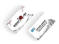 Дизайн визиток питомника собак (японская акита / акита ину)