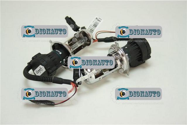 Лампа автомобильная Н4 БИ ксенон Galaxy (4300К) к-т  (4300К AC)