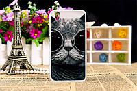 Чехол с рисунком для Umi London Кот в очках