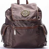 Женский рюкзак Tory Burch  коричневого цвета