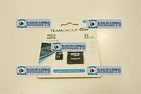 Карта памяти микро SD 8 Гб+ адаптер (флешка)