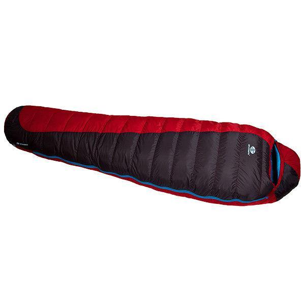 Спальный мешок Sir Joseph Erratic plus II 850/190/-12°C Red/Blue
