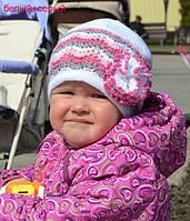 Ажурная летняя детская шапочка