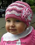 Красивая ажурная шапочка для девочки , фото 3
