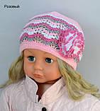 Красивая ажурная шапочка для девочки , фото 4