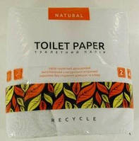 """Туалетная бумага белая """"Natural"""" ( 4 шт/пач)"""