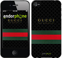"Чехол на iPhone 4 Gucci 1 ""451c-15-532"""