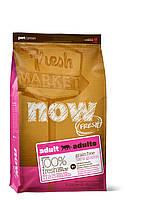 Сухой беззерновой корм «Now! С индейкой, уткой и овощами» (для взрослых кошек) 3,63кг