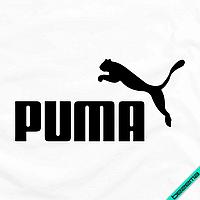 Аппликация, наклейка на ткань Puma [7 размеров в ассортименте] (Тип материала Матовый)