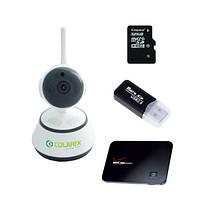 КОМПЛЕКТ IP видеонаблюдения COLARIX ОНЛАЙН 3G +
