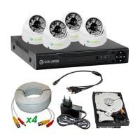 Комплекты аналогового видеонаблюдения