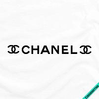 Наклейки на носки Chanel [7 размеров в ассортименте] (Тип материала Матовый)