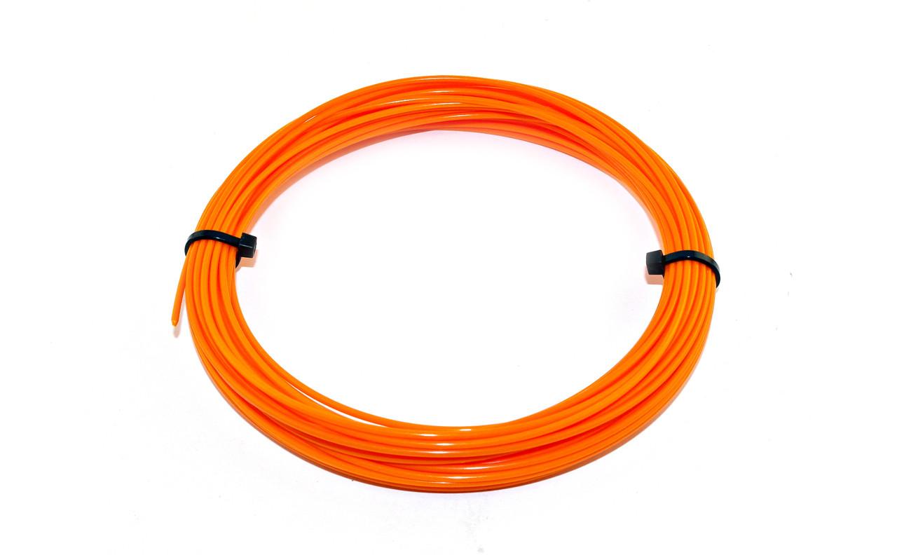 Оранжевый PLA пластик для 3D ручки 10 метров