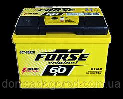 Аккумулятор FORSE 6СТ 60 А2 600 А (EN) прав+