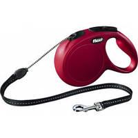 Поводок-рулетка Flexi Classic M (красный)