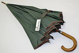 """Однотонный зонтик-трость с куполом 115 см. на 12 карбоновых спиц от фирмы """"SUSINO"""""""