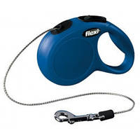 Поводок-рулетка Flexi Classic XS  (синий)