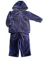 Детский Костюм спортивный: кофта, брюки для девочек 3-18 месяцев