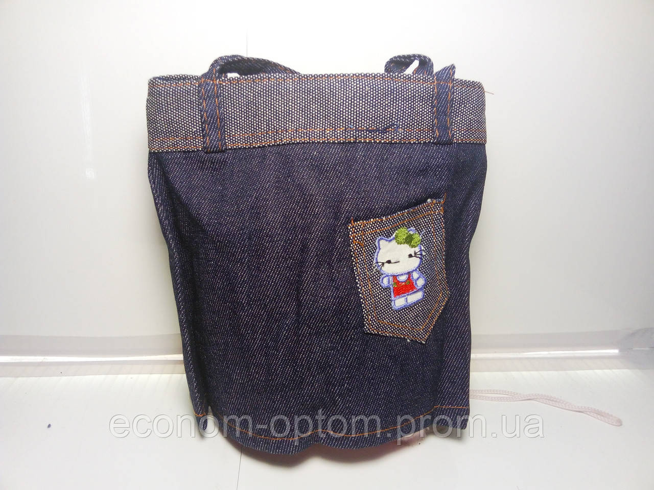 Оригинальная женская сумка с невидимым дном «Джинс»