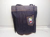 Оригинальная женская сумка с невидимым дном «Джинс» , фото 1