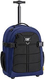 Рюкзак на колесах черно-синий 83426.352 Cat