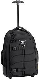 Рюкзак на колесах большой черный 83427.01 Cat