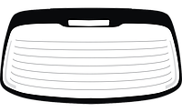Заднє скло Acura ZDX (Позашляховик) (2010-2013)