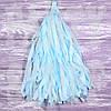 Гирлянды тассел светло-голубой, 35 см, 5 шт