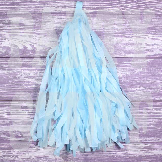 кисточки тассел светло-голубой