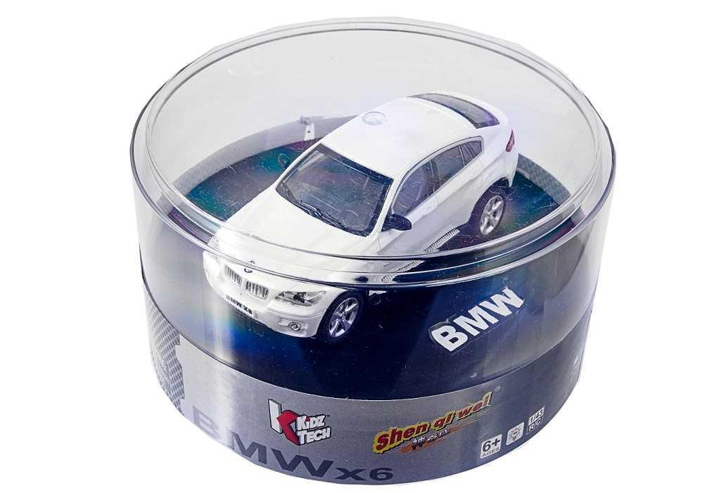 Машинка на радиоуправлении 1:43 лиценз. BMW X6 (белый)