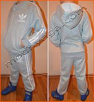 Детский теплый спортивный костюм | Adidas для мальчиков