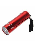 Карманный фонарик Bailong BL-B16 2*АА 85*20мм Red