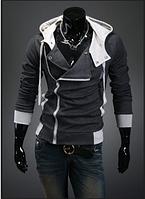 Практичная толстовка , реглан, куртка M, L, XL, XXL, XXXL,4XL серая