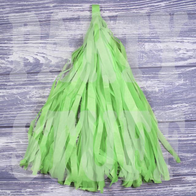 кисточки тассел светло-зеленый