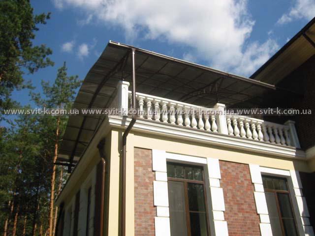 ПМП «Интергейтс» - терраса частного дома, сотовый поликарбонат Polygal