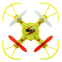 Квадрокоптер нано р/у 2.4ГГц WL Toys V646-A Mini Ufo (желтый)