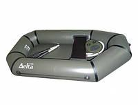 Гребная надувная лодка пвх Дельта 190 без уключин с гребками