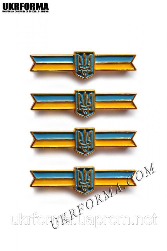 Затискач для краватки з національною символікою