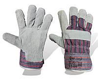 Перчатки комбинированные х/б-спилок