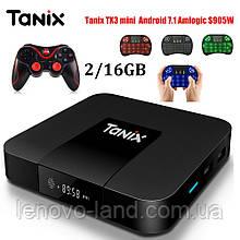 TV Box Tanix TX3 mini 2/16GB - мощный медиаплеер для ТВ, Wi-FI, Bluetooth, RCA / HDMI