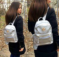 Рюкзак серебро Корона