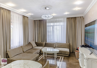 House in Kyiv 500 m  Modern house.  Furniture with classical elements. Tile - Atlas Concorde. Wall Decor -@SanMarcoSpa. Furniture - Mirt Company.