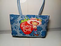 Пляжная сумочка для девочек с ярким принтом