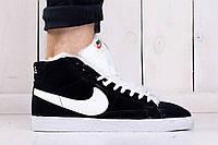 Зимние мужские кроссовки Nike Blazer Winter, Копия